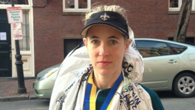 Allison Raite Talks About Explosions After Finishing Boston Marathon