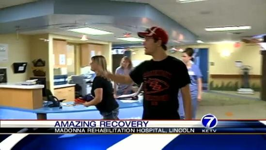 Teen makes great strides in recovery after crash