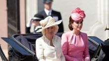 Duchess of Cambridge is pretty in pink at Trooping the Colour parade