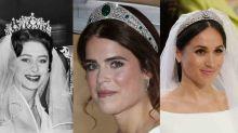 Las tiaras más espectaculares que han llevado las 'royals' británicas el día de su boda
