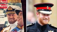 Prince Philip and Prince Harry Basically Looked Like Twins