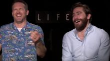 Jake Gyllenhaal and Ryan Reynolds' bromance has the internet aflutter