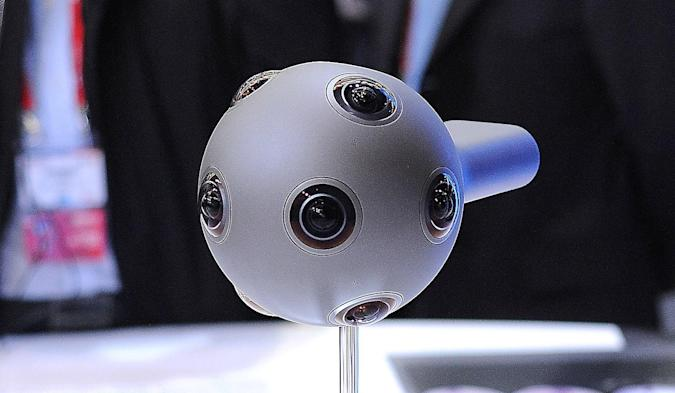 Sony Pictures will stream live VR with Nokia's Ozo camera