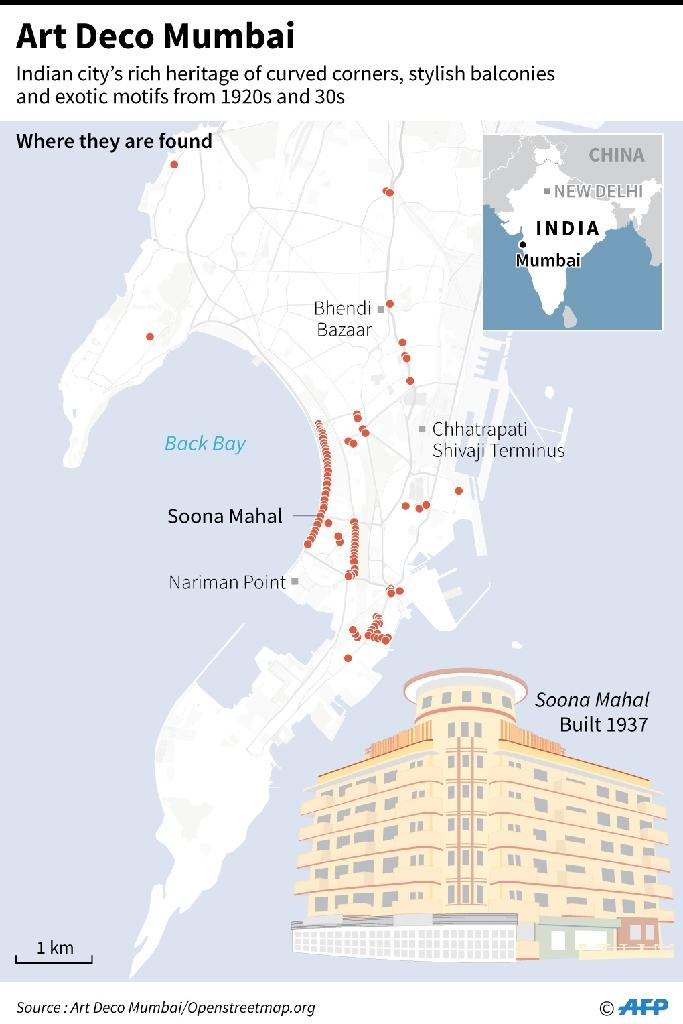 India's 'Miami': Putting Mumbai's Art Deco on the map on indian home, indian church, indian geography, indian art, indian helmet, india map, indian restaurants, indan map, indian health, indian sports, indian culture, indian transportation, china map, indian city weather, indian clothing, taj mahal site map, indian design, indian city drawing,