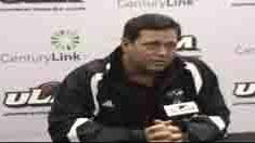 ULM Head Coach Todd Berry recaps FIU game