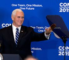 Vice President Pence tries to enlist U.S. ambassadors in the shutdown fight, but doesn't mention furlough