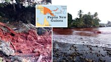 Aussie neighbour's 'worst environmental disaster in history' turns sea red