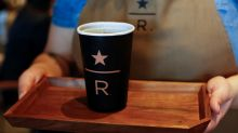 Starbucks opens first Reserve store, sees retail rents easing
