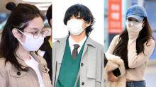 口罩下的韓星顏值仍是高企 你能猜出他們是誰嗎?