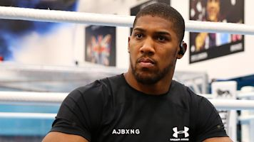 Anthony Joshua denies Eddie Hearn's claim he's relieved to no longer be champ