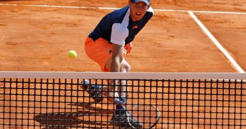Tennis - ATP - Rome - Rome : Dominic Thiem se fait très peur mais passe en quarts de finale
