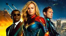 'Captain Marvel' reviews hail Brie Larson's 'straight-up female powerhouse' superhero