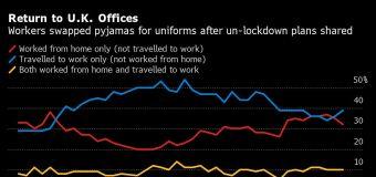 Trabajar en casa reduce la productividad: encuesta Reino Unido