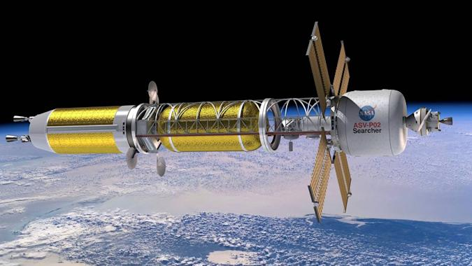 NASA nuclear thermal propulsion spacecraft concept