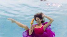 Sirenas bailarinas: retratos únicos bajo el agua