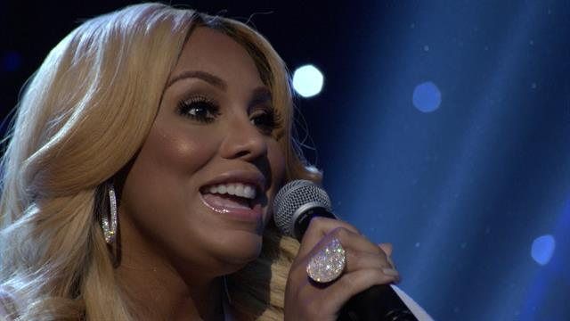 Tamar Braxton Performs 'All The Way Home'