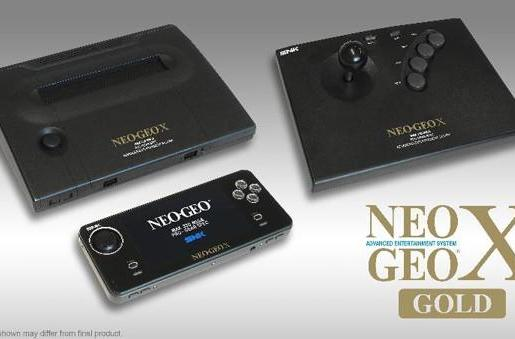 Neo Geo X Gold gets worldwide December release date, $200 price tag