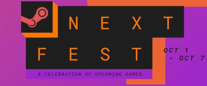 Valve Steam Next Fest for October 2021