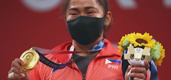 VIDEO: Olympic gold lifts COVID-weary Philippines