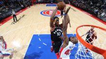 DeMar DeRozan's Raptors finish off Pistons in style, clinch playoff berth