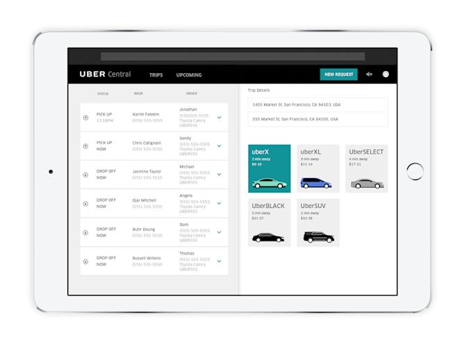 Uber is making it easier for companies to offer free rides