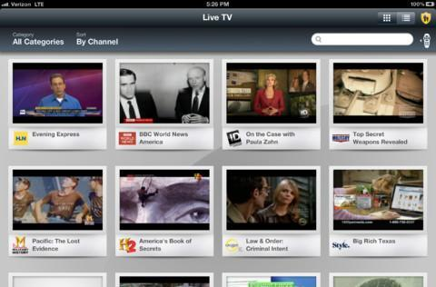 Verizon FiOS Mobile app for iPad updated with streaming access to 75 channels