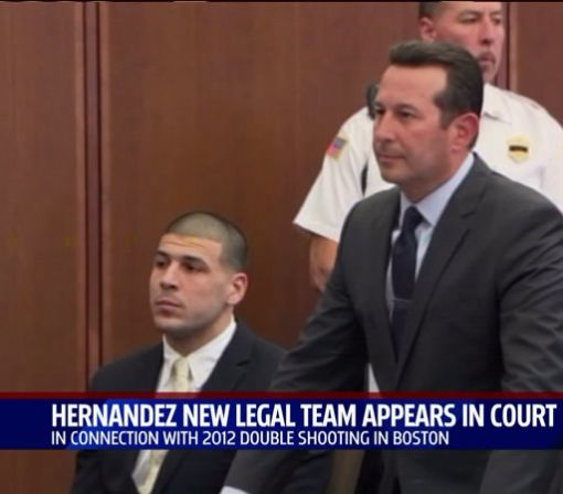 Aaron Hernandez Appears In Court To Face Double Slaying Charges
