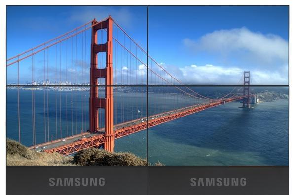 Samsung gets official with its UT, UD-series video wall LCD products