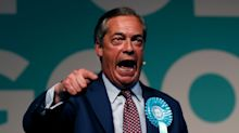 Nigel Farage 'trapped' on Brexit Party bus due to fears he could be hit by milkshake