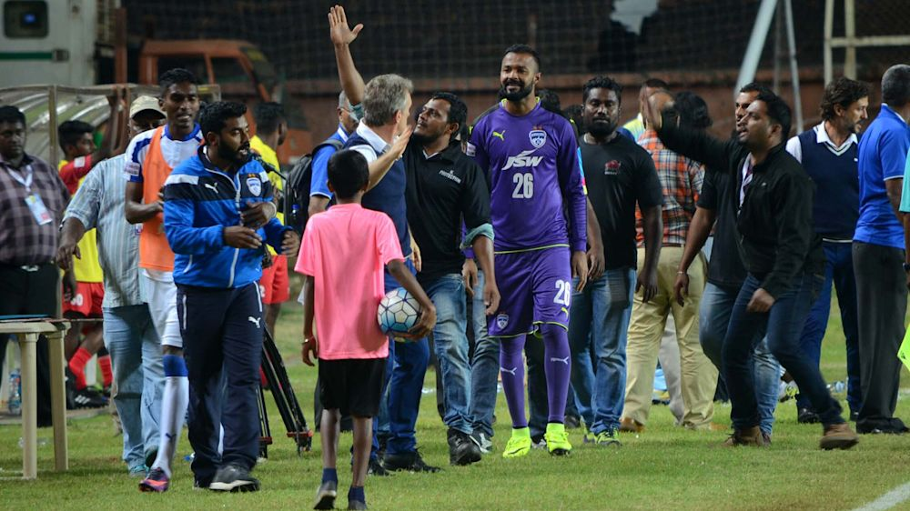 I-League 2017: Bengaluru FC 3-0 Churchill Brothers: Youngsters impress as Blues cement a top-four finish