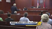 'Moral Monday' cases go to trial