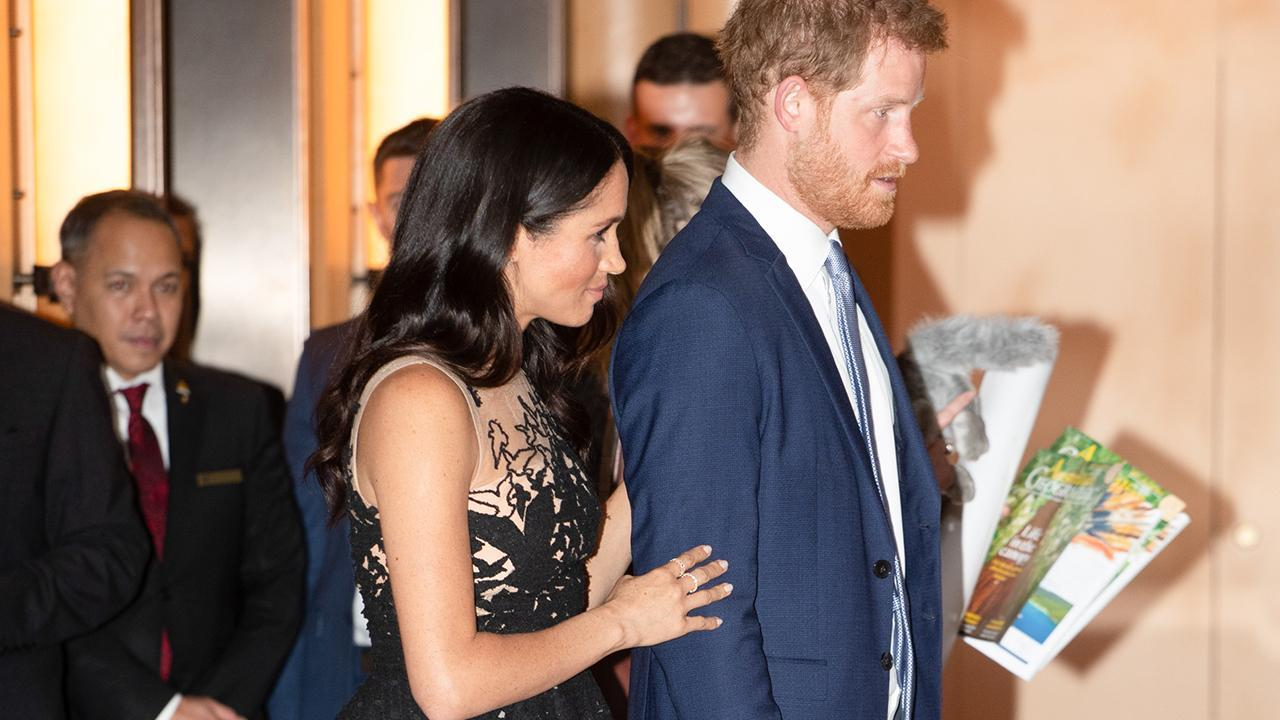 Meghan Markle and Prince Harry's Plane Aborts Landing