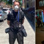 'I never expected it to happen in the US': British photojournalist arrested in NYC covering George Floyd protests