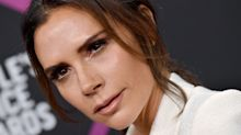 Victoria Beckham Got a Surprisingly Great Haircut En Route to the People's Choice Awards