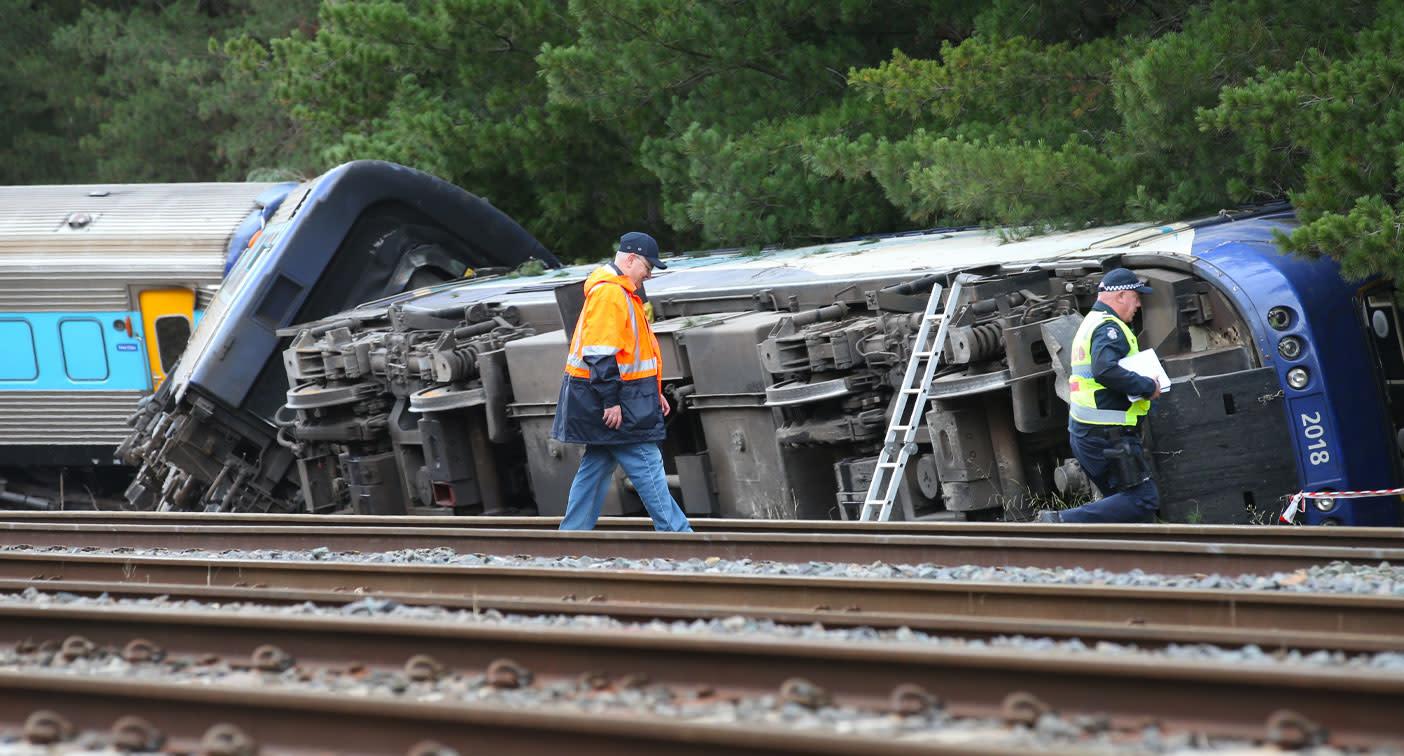 Union makes explosive allegations about railway track after fatal derailment