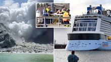 'No signs of life' on volcanic island where Aussie tourists still missing