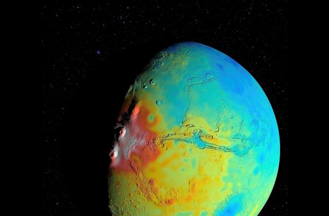 Mars has a less dense crust than astronomers thought