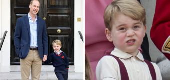 Wills and Kate keeping this 'secret' from George