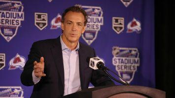 Avs GM Sakic wants to add a goalie before deadline