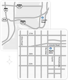 Apple Store Lincoln Road opening July 21st at 6 pm