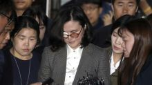 South Korean prosecutors arrest ex-minister's wife