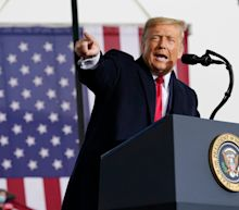 Trump news: President repeats Biden allegations at rally after watching Fox News interview