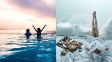 【香港Staycation】閨蜜、情侶五星酒店住宿:必試網紅泳池+270度海景酒吧cocktail班