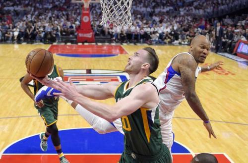 Gordon Hayward shot 47.1 percent from the floor last season. (AP)