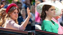 Check out Princess Eugenie and Beatrice's Hats