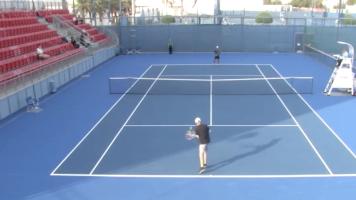 Bizarres Match: Tennis-Spieler gewinnt keinen einzigen Punkt