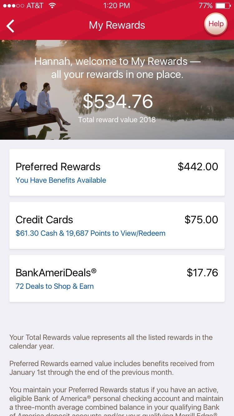 Bank Of America Introduces My Rewards