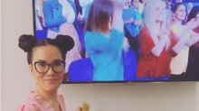 Ali Wong Hilariously Indulges In 'Sacred Chinese Tradition' In 'Ellen' Green Room
