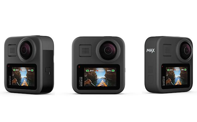 GoPro Max is the company's second take on a 360 camera