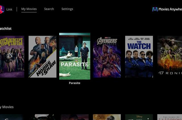LG TVs add a Movies Anywhere app
